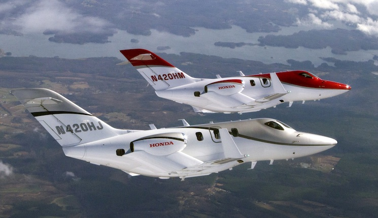 Le hondajet maintenant en production sera distribu au for How much is a honda jet