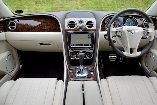 Bentley Flying Spur W12 interieur