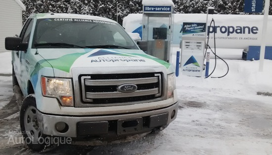 Ford F-150 - Alliance AutoPropane
